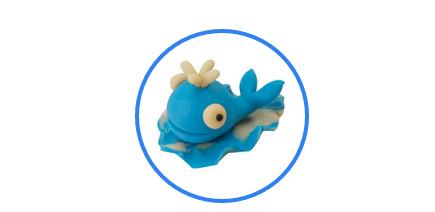 彩泥海洋动物步骤